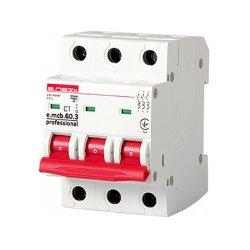 Трёхфазный автоматический выключатель 3р, 1А, C, 6кА new, e.mcb.pro.60.3.C 1 new