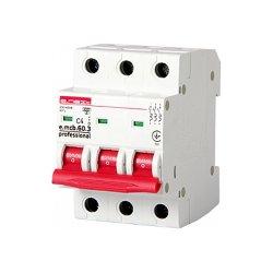 Трёхфазный автоматический выключатель 3р, 4А, C, 6кА new, e.mcb.pro.60.3.C 4 new