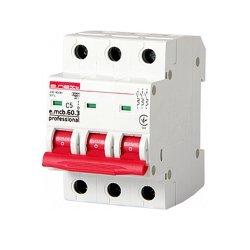 Трёхфазный автоматический выключатель 3р, 5А, C, 6кА new, e.mcb.pro.60.3.C 5 new