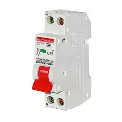 Модульный автоматический выключатель 1р+N, 20А, C, 4,5кА, тонкий, e.mcb.pro.60.1N.С20.thin