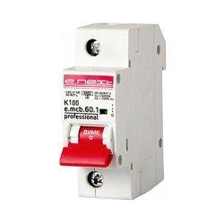 Однополюсный автоматический выключатель 1р, 100А, K, 6кА new, e.mcb.pro.60.1.K 100 new