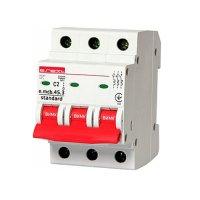 Трёхфазный автоматический выключатель 3р, 2А, C, 3,0 кА, e.m