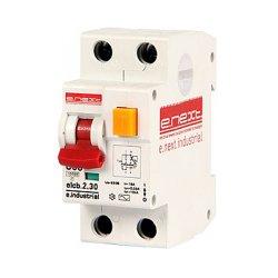 Дифферинциальный автоматический выключатель 2р, 6А, C, 30мА e.industrial.elcb.2.C06.30