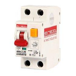 Дифферинциальный автоматический выключатель 2р, 25А, С, 30мА e.industrial.elcb.2.C25.30