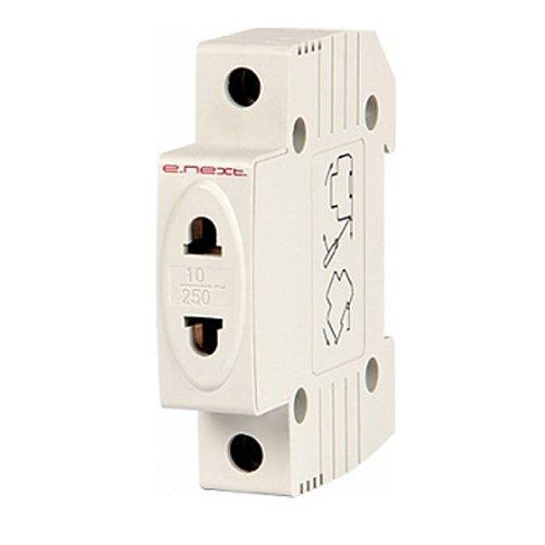 Фото Розетка на DIN-рейку, 230 В, L+N, e.socket.stand.din, 230 В Электробаза