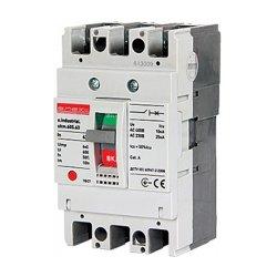 Шкафной автоматический выключатель, 3р, 10А, А, 10 кА, e.industrial.ukm.60S.10