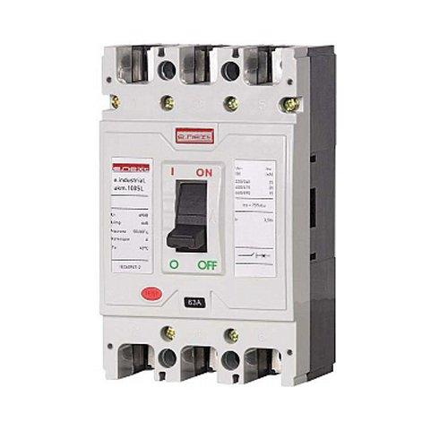 Фото Автоматический выключатель шкафной 63А 3п e.industrial.ukm.100SL.63 Электробаза