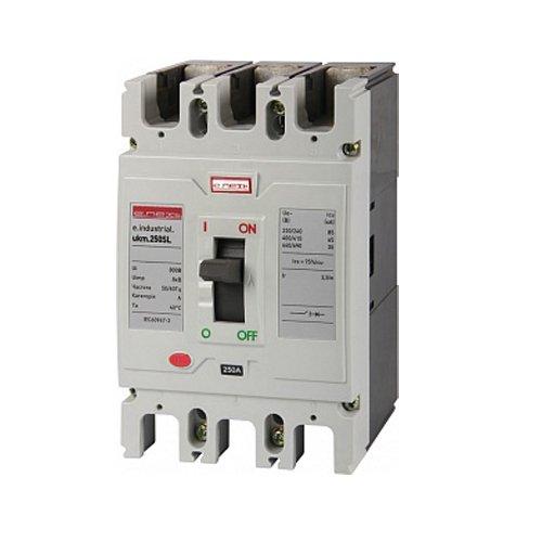 Фото Автоматический выключатель шкафной 100А 3р e.industrial.ukm.250SL.100 Электробаза