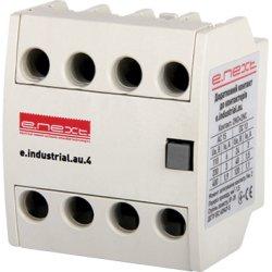 Дополнительный контакт e.industrial.au.4.22, 2no+2nc