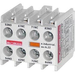 Дополнительный контакт e.industrial.au.m.22, 2nc+2no