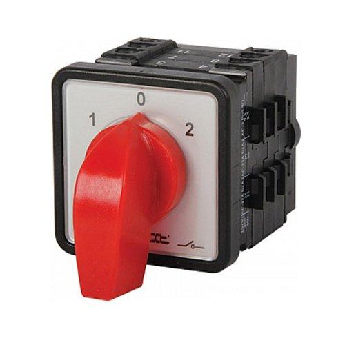 Фото Пакетный переключатель, щитовой, с передней панелью, 3p, 1-0-2, 63А, LK63/3.323-ZP/45 Электробаза
