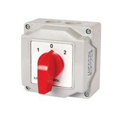 Пакетный переключатель, в корпусе, 2p, 0-1, 16А, IP44, LK16/2.211-ОВ/45