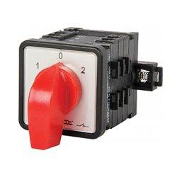 Пакетный переключатель, щитовой, на DIN - рейку, 3p, 1-0-2, 25А, LK25/3.323-SP/45