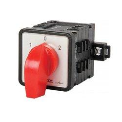 Пакетный переключатель, щитовой, на DIN - рейку, 2p, 0-1, 63А, LK63/2.211-SP/45