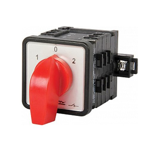Фото Пакетный переключатель, щитовой, на DIN - рейку, 4p, 0-1-2, 63А, LK63/4.322-SP/45 Электробаза