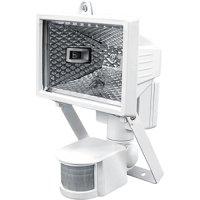 Фото Прожектор галогенный с датчиком движения 150Вт белый e.halog