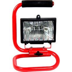 Прожектор переносной 500Вт галогенный красный e.halogen.base.500
