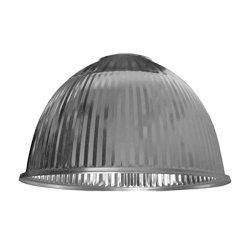 Алюминиевый отражатель к подвесным светильникам серии 485 2201 2202 2211 485мм рефленый e.high.light.al.refl.c.