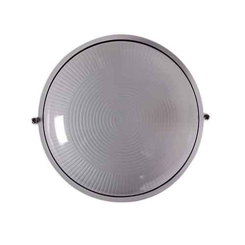 Светильник влагозащитный, 100 Вт, e.light.1301.1.100.27.white