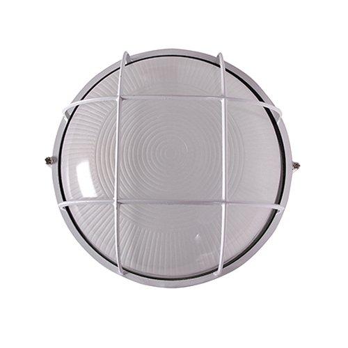 Светильник влагозащитный, 100 Вт, e.light.1303.1.100.27.white