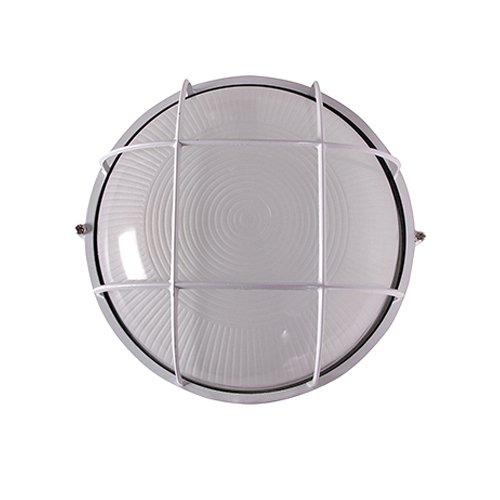Светильник влагозащитный, 60 Вт, e.light.1303.1.60.27.white