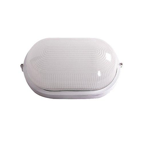 Светильник влагозащитный, 60 Вт, e.light.1401.1.60.27.white