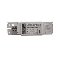 Дроссель для ламп электромагнитный 20 Вт  e.ballast.magnetic.230.20