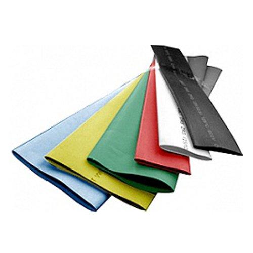 Фото Трубка термоусадочная 100/50, 1м, черная, e.termo.stand.100.50.black Электробаза