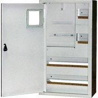 Фото Щит учёта электрический металл под 3-ф. электронный счетчик