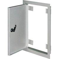 Фото Дверь ревизионная металл 400х600м c замком  e.mdoor.stand.40