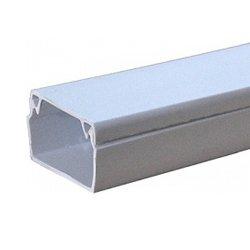 Короб для проводов пластиковый, 12х12 мм, 2м, e.trunking.stand.12.12