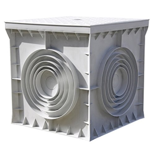Фото Колодец кабельный пластиковый e.manhole.200.200.200.cover, 200х200х200мм с крышкой Электробаза