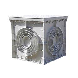Кабельный колодец, пластиковый, 300х300х300 мм, e.manhole.300.300.300.cover