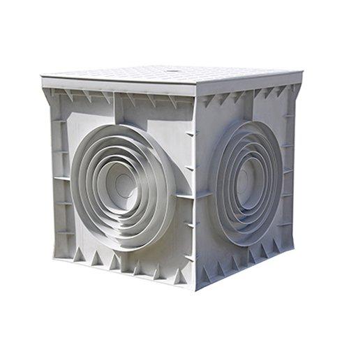 Фото Кабельный колодец, пластиковый, 300х300х300 мм, e.manhole.300.300.300.cover Электробаза