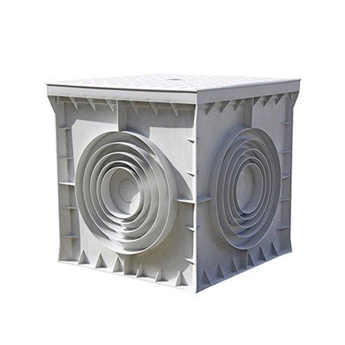 Фото Кабельный колодец, пластиковый, 400х400х400 мм, e.manhole.400.400.400.cover Электробаза