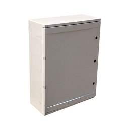 Шкаф распределительный, из АБС-пластика, 250х330х130 мм, IP65, e.plbox.210.280.130.18m.blank