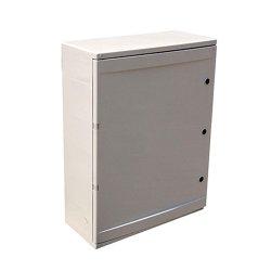 Шкаф распределительный, из АБС-пластика, 300х400х165мм, IP65, e.plbox.300.400.165.24m.blank