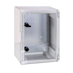 Шкаф распределительный, из АБС-пластика, 300х400х165мм, IP65, e.plbox.300.400.165.tr