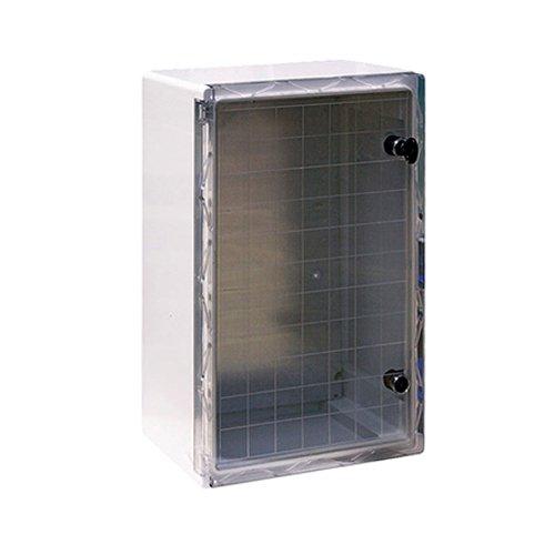 Фото Шкаф распределительный, из АБС-пластика, 400х600х200мм, IP65, e.plbox.400.600.200.tr Электробаза