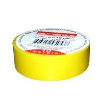 Изолента из самозатухающего ПВХ, желтая, 10м, e.tape.pro.10.yellow