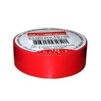 Фото Изолента из самозатухающего ПВХ, красная, 20м, e.tape.pro.20