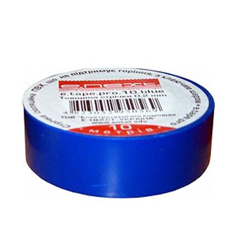 Фото Изолента 10м, синяя, e.tape.stand.10.blue Электробаза