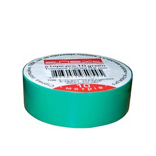 Фото Изолента 10м, зеленая, e.tape.stand.10.green Электробаза