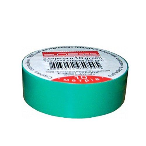 Фото Изолента 20м, зелёная, e.tape.stand.20.green Электробаза