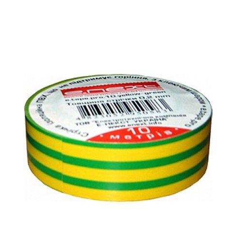 Изолента 20м, желто-зелёная, e.tape.stand.20.yellow-green
