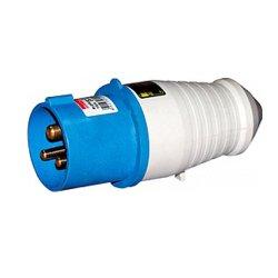 Вилка силовая, переносная, 4п., 380В, 16А (014), e.plug.pro.4.16