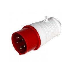 Вилка силовая переносная 5п 32А (025) e.plug.pro.5.32