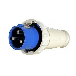 Вилка силовая переносная трёхфазная 3п 220В 63А (033) e.plug.pro.3.63