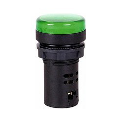Индикатор, зелёный, e.pb.ad.stand.22.22.d.s.green