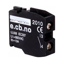 Блок-контакт для кнопок, открытый, e.cb.stand.la.no